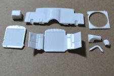 REVELL 1/25 1950 OLDSMOBILE (OLDS) CLUB COUPE ENGINE BAY PARTS - 8 IN ALL!