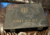VINTAGE MINE SAFETY APPLIANCE CO FIRST AID KIT Full Illustrated Pittsburgh PA