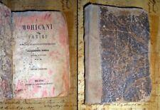 I Mohicani Di Parigi - Alessandro Dumas - Libreria di Dante - 1856