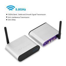 300M 5.8GHz Wireless AV Sender Segnale TV Audio Video Trasmettitore Ricevitore