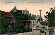 AK GRUSS AUS HERZOGENRATH KR AACHEN AACHENERSTRASSE 1908 col NORDRHEIN WESTFALEN