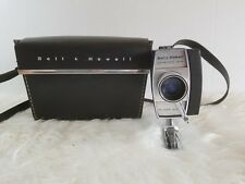 Bell & Howell Super Eight Autoload Optic Eye f/1.9 Zoom Lens & Case