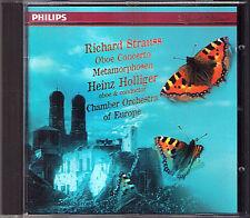 Heinz Holliger: Richard Strauss Oboe Concerto Métamorphoses for 23 Strings CD