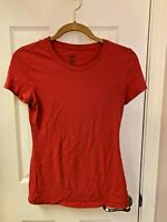 GAP RED T SHIRT LADIES JUNIOR SIZE XS