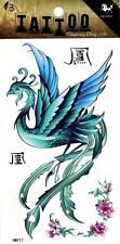 Temporary Tattoo Mystic Bird Ladies Body Art Removable HM217