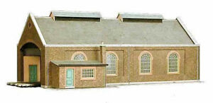 SUPERQUICK 2 ROAD ENGINE SHED KIT A5   00