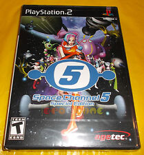 SPACE CHANNEL 5 SPECIAL EDITION 1 Ps2 Versione NTSC Americana ○○○○ NUOVO