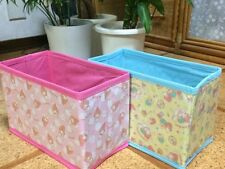 My Melody & Little Twin Stars Set of 2 Small Storage Box for Cars Sanrio Japan