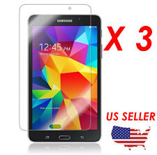3x HD Clear LCD Screen Protector Saver Film for Galaxy Tab 4 7.0 7 Inch SM-T230