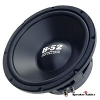 B52 by Eminence DVC dual voice coil 8ohm Subwoofer Home Theater/ Car made in USA