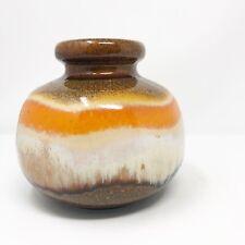 Vintage Scheurich Ceramic Vase 284-75 West Germany Stoneware Pottery