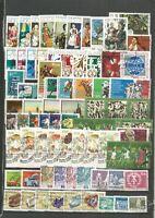DDR 1974 gestempelt komplett  mit allen Einzelmarken                    A