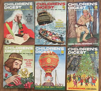 Children's Digest Magazine 1962 Lot Of 6 Jan, May, Sept, Oct, Nov. Dec. Issues