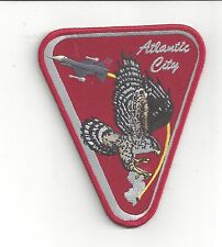 PATCH USAF 119TH FIGHTER SQ FS F-16 JERSEY DEVIL ON TAIL  AIR GUARD