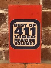 Best Of 411 Video Magazine Volume 2 Vhs 1995