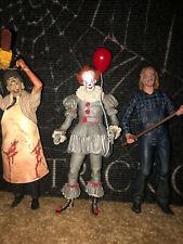 Neca Texas Chainsaw Massacre Leatherface,It,Friday the 13th 2 Jason Figure Lot