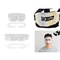 100 Pack VR Disposable Sanitary White Eye Mask for Virtual Reality Headset