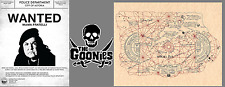 The Goonies One Eyed Willie Treasure Map (COLOR) & Mama Fratelli Wanted Poster