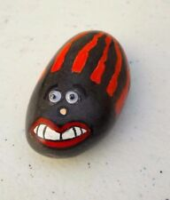 """One of The Kind Hand Painted Rock Art Emoji Rock And Quote """"So Amazing"""""""