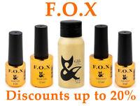 F.O.X ( Fox ) Base Rubber / Top / Strong / Cover / No Wipe / Matt velvet / Grid