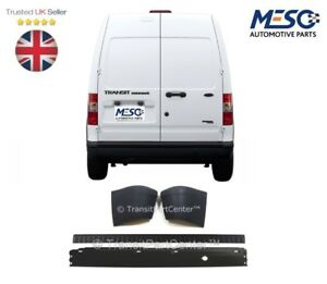 REAR BUMPER AND COVER WITH TWO END CAPS FITS FOR FORD TRANSIT CONNECT 2002-2013