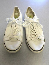 Simple white leather sneakers. Men's 11 (eur 44.5)
