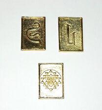 Original Battlestar Galactica Gold Cubit Set of 2 Different- Mailed from USA
