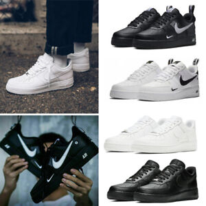 Nlke AIR FORCE 1'07 Womens Mens Sports Casual Shoes Low Sneaker Size UK 3-10