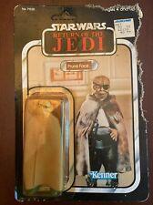 Vintage Kenner StarWars Prune Face Original Figure on Sealed Card 77 Back