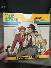 The Sting-Super 8mm Colour/Sound Film Paul Newman Robert Redford 1x400ft Shaw