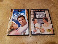 Jack Lemmon - The Apartment (Dvd, 1960, 2001) & Avanti (1972, 2003) Likenew!