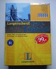 Langenscheidt Megabox Englisch, 3 Kurs-Bücher, 8 Audio-CDs, 2 CD-ROMs, Wörterbuc