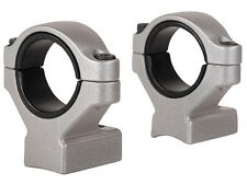 """NEW Remington 2-Piece Scope Mounts with Integral 30mm Rings, 1"""" Inserts 19476"""
