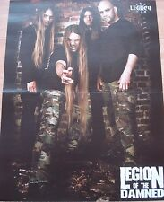 Legion Of The Damned  // Black Messiah  _  1 Poster _ 29,5 cm x 39 cm