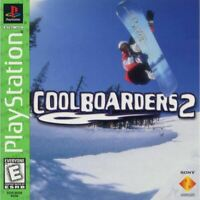 Cool Boarders 2 (Greatest Hits) - PlayStation 1 (PS1) Game *CLEAN VG