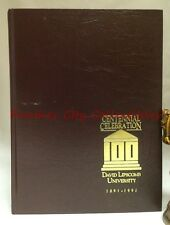 1891-1991 David Lipscomb University Centennial Celebration History Nashville Ten