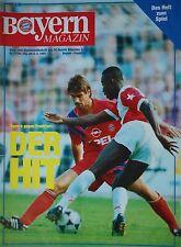 Programm 1992/93 FC Bayern München - Eintracht Frankfurt