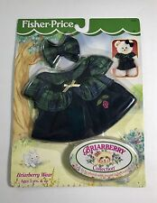Fisher-Price Briarberry Wear 1999 Plaid Dress and Bow / 75020 /Sealed in Package