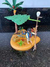 Playmobil Pirate Castaway On Palm Island 5138