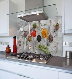 Printed Kitchen Glass Splashback - Toughened & Heat Resistant Cooker Panel 1179