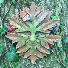 Nature King Green Man Garden Wall Plaque Outdoor Celtic Pagan Garden Gift 09067