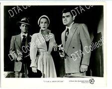 I WAS A SHOPLIFTER-1950-8X10 PROMO STILL-TONY CURTIS-SCOTT BRADY-CRIME-DRAMA VF