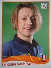 Panini 97 Sandrine Soubeyrand Frankreich FIFA Women's WM 2011 Germany