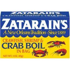 Zatarain's Zaterains New Orleans Crawfish Shrimp Crab Boil Complete in Bag 3 oz