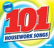 Various Artists - 101 Housework Songs - Various Artists CD GQVG The Cheap Fast