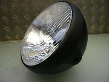CAFE RACER SCHEINWERFER OLD SCHOOL HEAD LAMP BRAT STYLE SR 500 XJ 550 XS 650 750