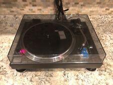 Technics SL 1210 1200 Black Agent Pro DJ Or Audiophile Dual Voltage Turntable