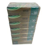 FUJI TC-30 VHS-C tapes (7) seven factory sealed FREE SHIPPING!!
