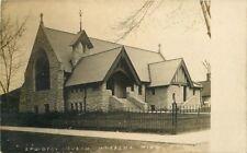 C-1910 Wabasha Minnesota Episcopal Church RPPC real photo postcard 12619