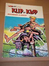 """BD """"Klip et Klop. Records à gogo"""" PORTO (1974) MON JOURNAL"""